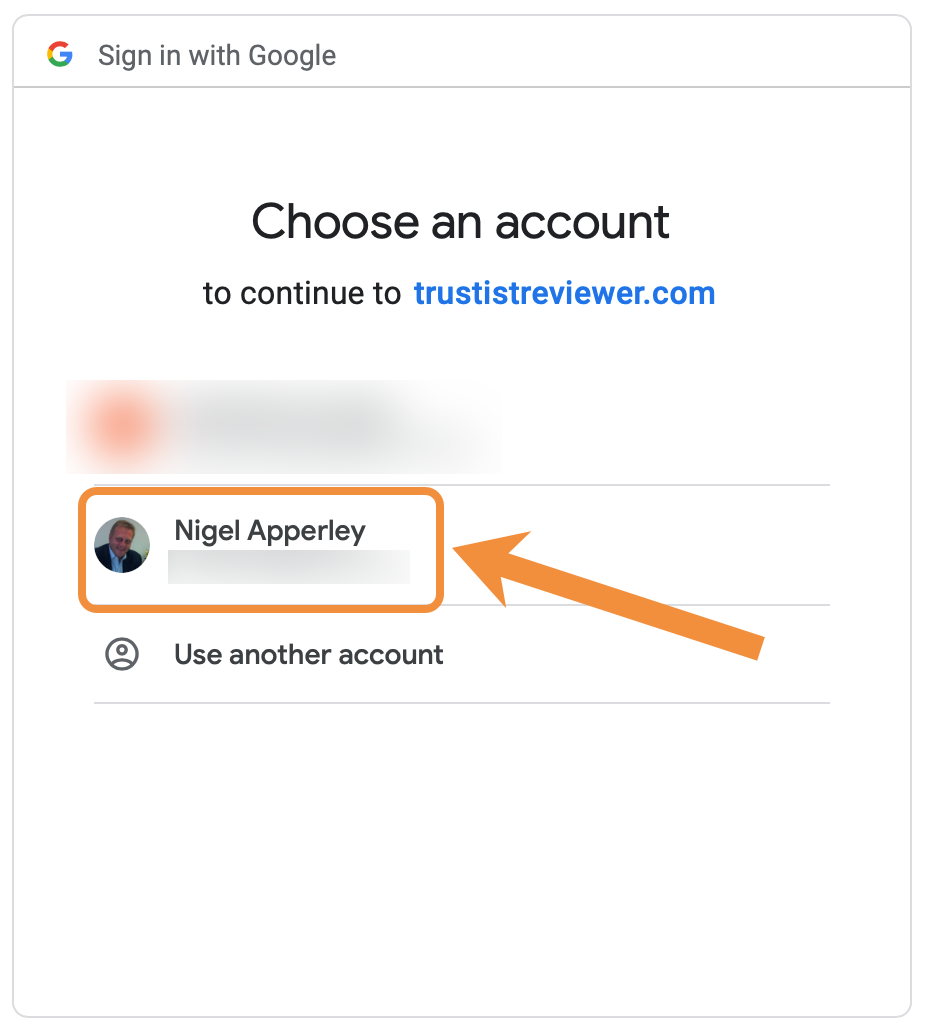 GMB Account Option