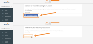 Connecting Facebook and Twitter